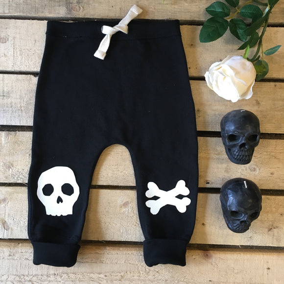 Skeletots Dead cute kids skull & bones sweatpants