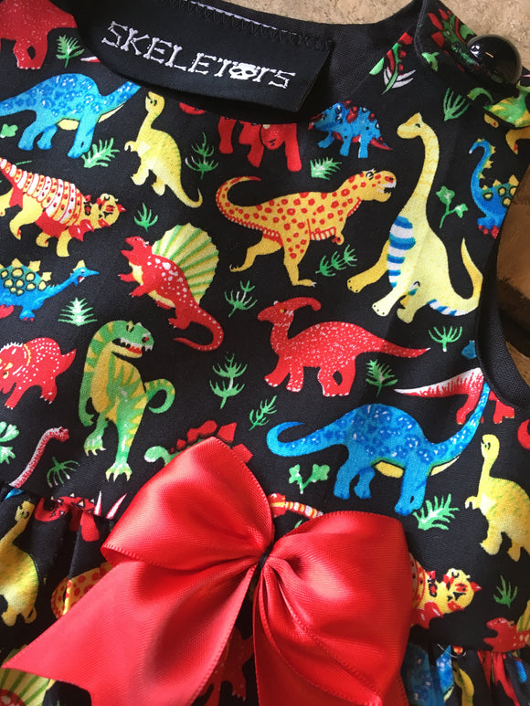 Skeletots Dinosaur dress