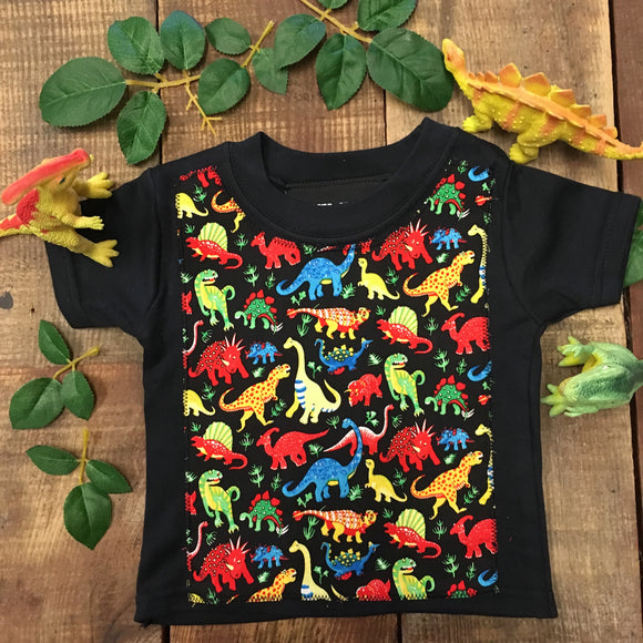 Skeletots Dinosaur kids baby t-shirt