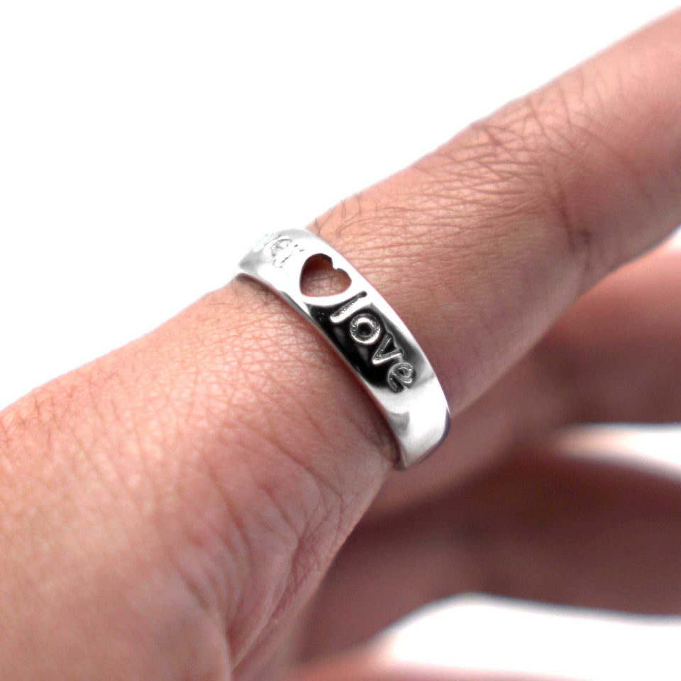 Forever Love Adjustable Couple Ring
