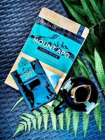 MT. APO 100% ARABICA DRIP COFFEE (DRIP BAGS)