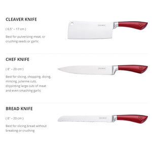 The Royalty 8in1 Knife Set