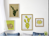 Cactus Carved Frames Wall Light