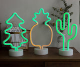 LED Neon Cactus Lamps
