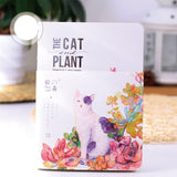 Succulents & Cats Notebook