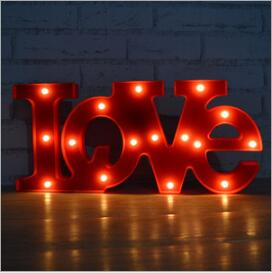 LOVE Designed Night Lamps