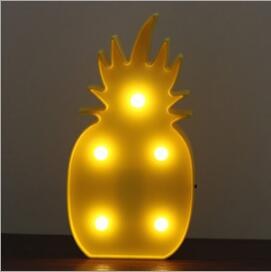 Pineapple Designed Night Lamp