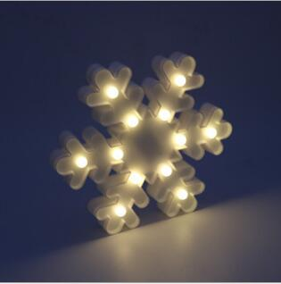 Snowflake Designed Night Lamps