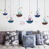 Cactus & Succulent Designed Wall Sticker