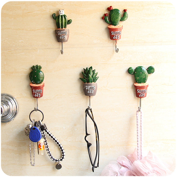 Lovely Cactus Designed Holders