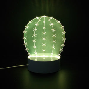 3D Cactus Led Lamps