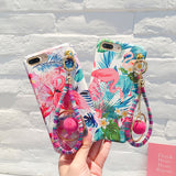 Tropical Hand Strap Phone Cases