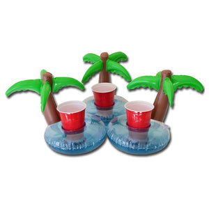 Palm Tree Drink Holder Pool Float