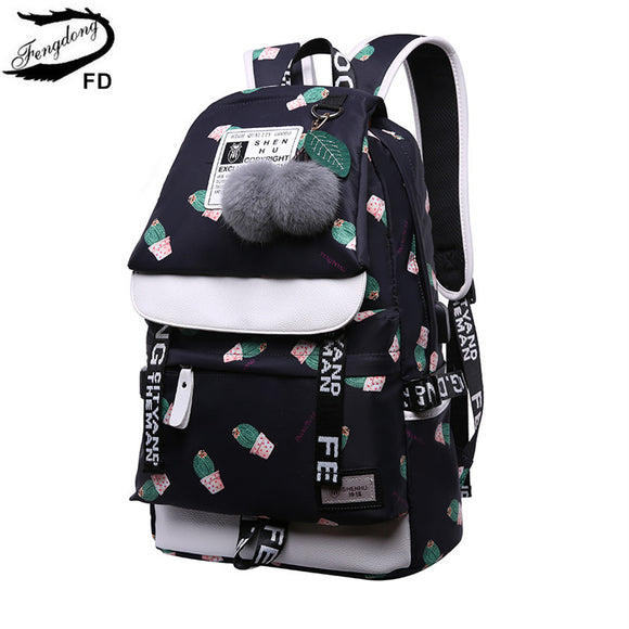 Cute Cactus Backpack