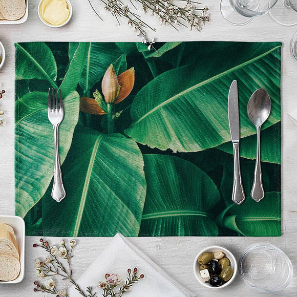 Plant Leaves Placemat