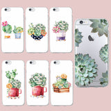 Succulent & Cactus Plant Phone Cases