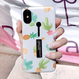 Lovely Cactus iPhone Cases