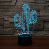 3D LED Visual Cactus Lights