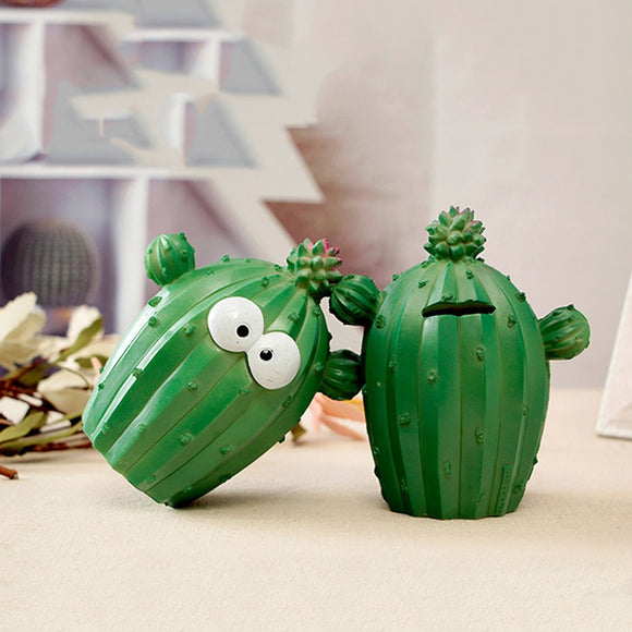 Cartoon Cactus Money Boxes