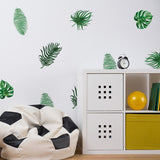 Green Plant Wall Stickers
