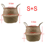 Seagrass Foldable Flower Pots