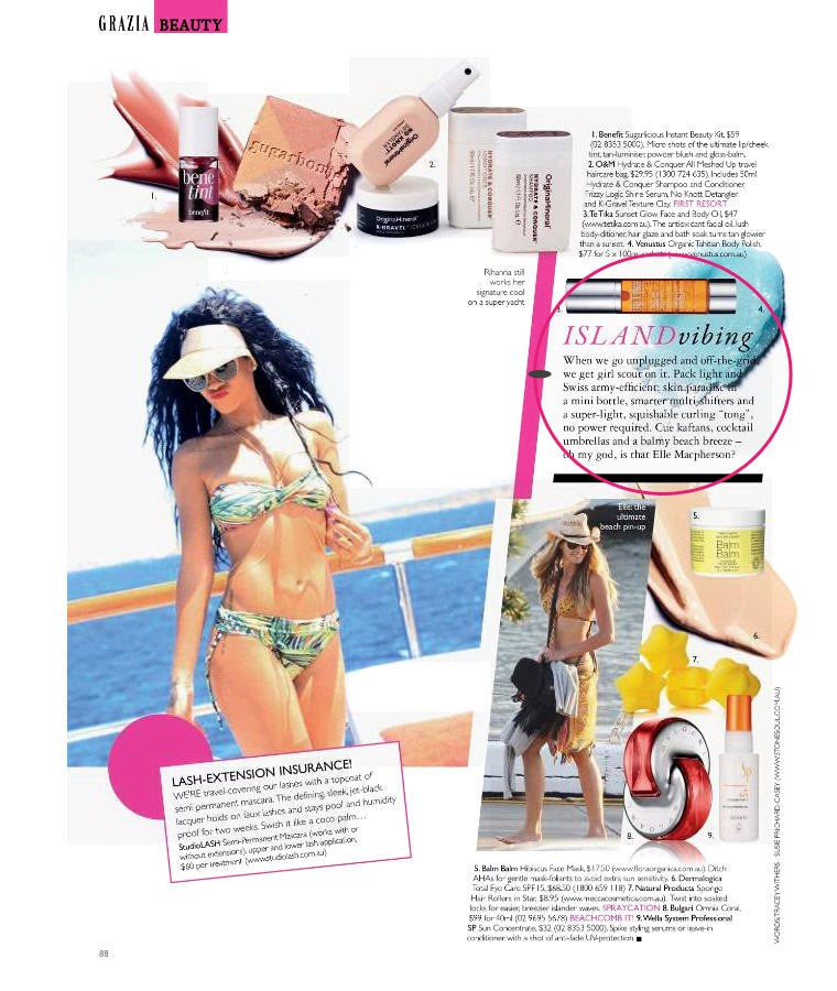TeTika is hot! - Grazia & New Weekly