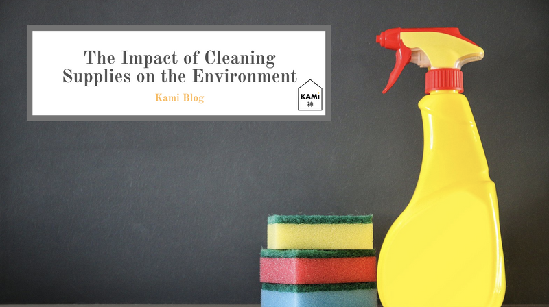 The Impact of Cleaning Supplies on the Environment-Kami Basics
