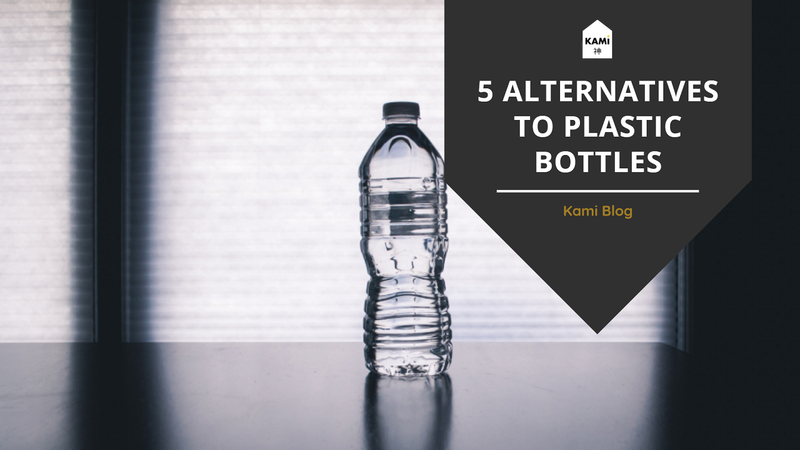 5 Alternatives To Plastic Water Bottles-Kami Basics