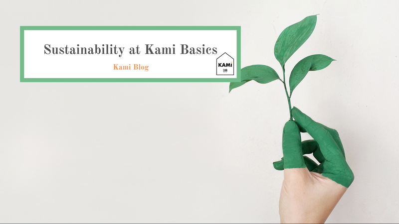 How Kami Basics Makes Online Shopping as Eco-Friendly as Possible