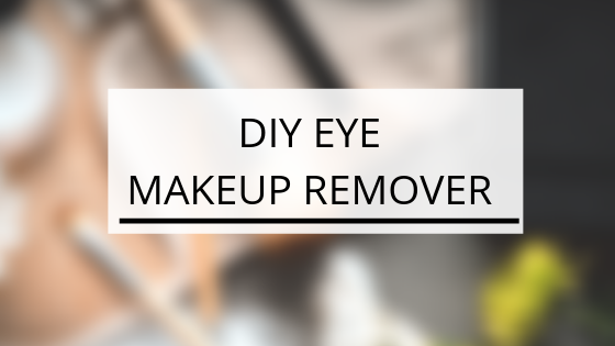 DIY Eyes Makeup Remover-Kami Basics
