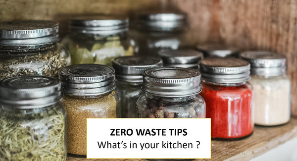 Zero waste during quarantine - What's in your kitchen ?