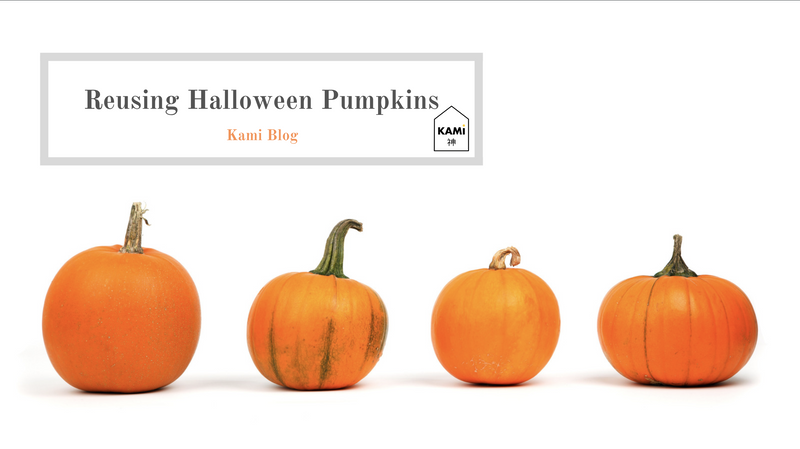 How to Reuse your Halloween Pumpkins-Kami Basics