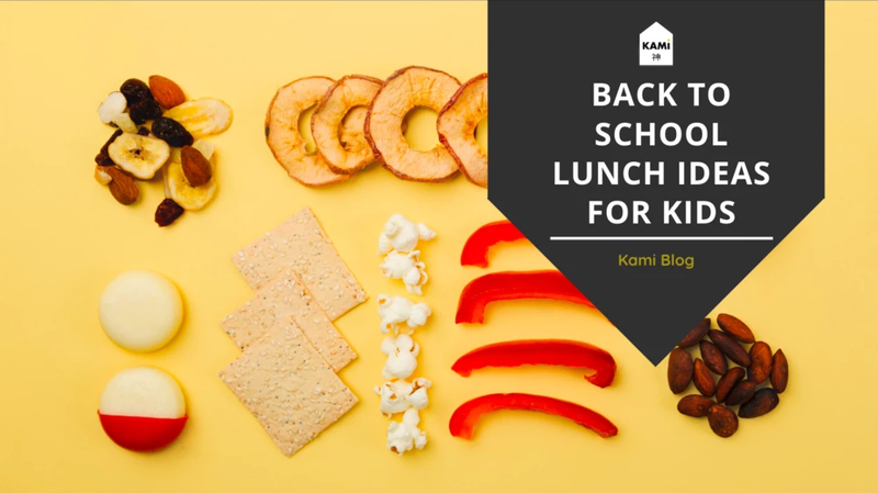 Back To School Lunch Ideas For Kids-Kami Basics