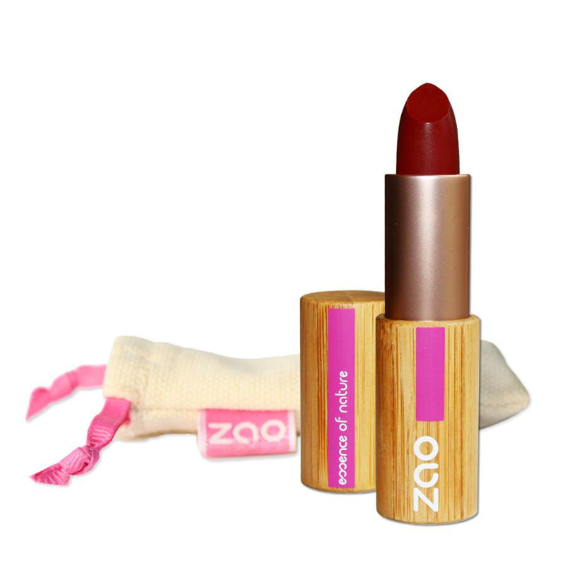 Refillable Red Matt Lipstick 465-Zao-Kami Basics