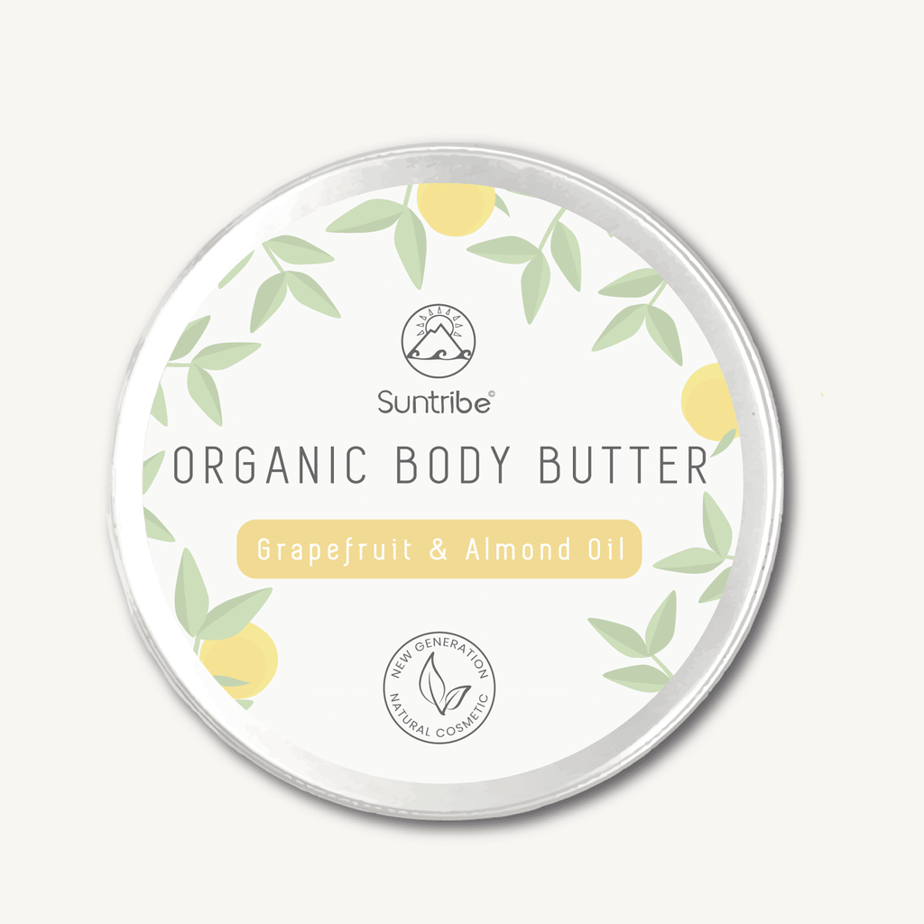 Suntribe Organic Body Butter - Grapefruit & Almond - Kami