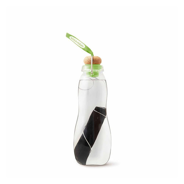 Water Bottle with Activated Charcoal Filter-Black + Blum-Kami Basics