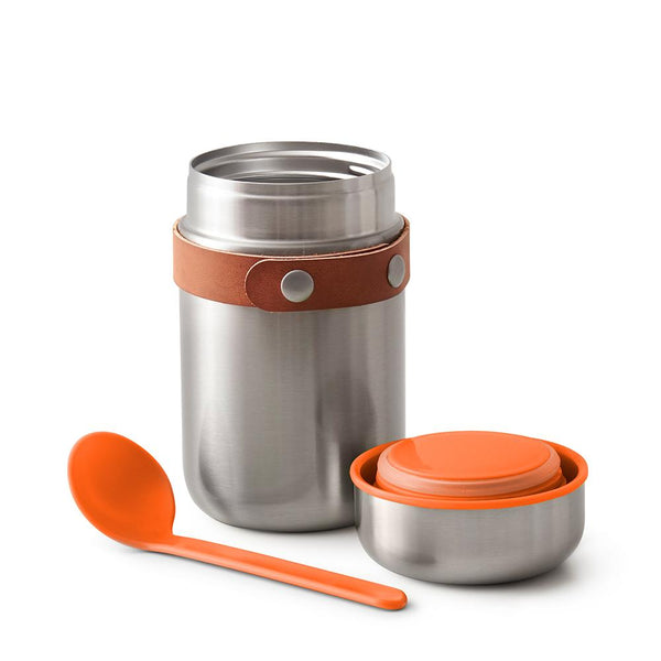 Insulated Food Flask - Orange