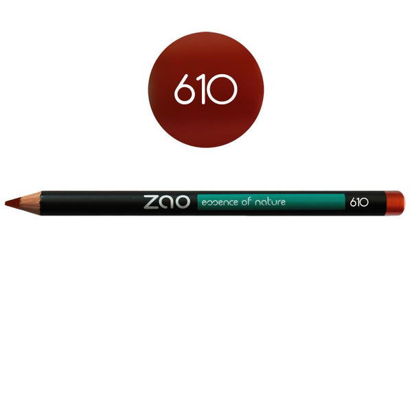 Vegan Red Makeup Pencil-Zao-Kami Basics