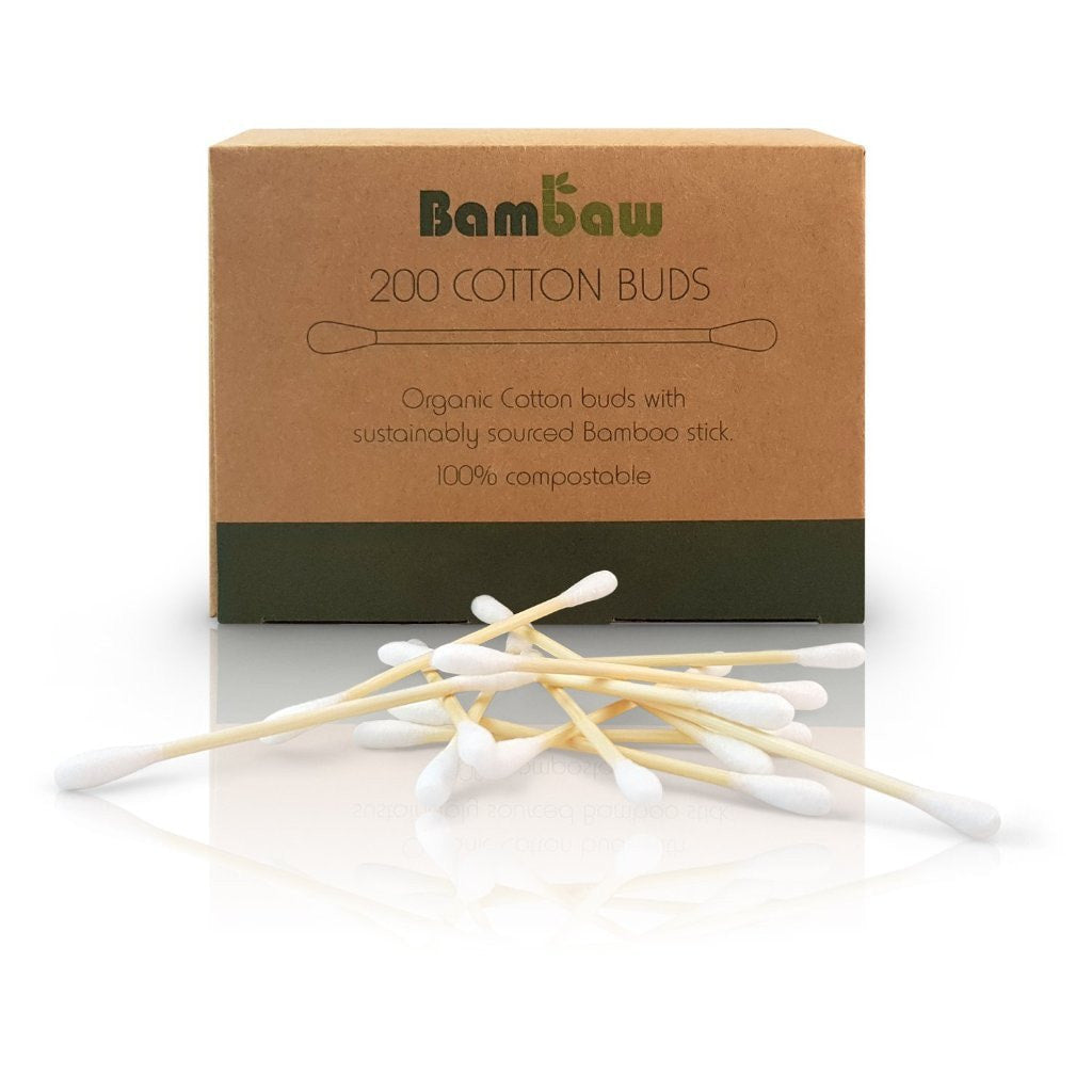 Bamboo Cotton Buds - Kami Basics