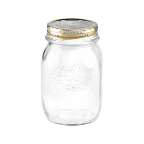 1L Glass Jar-Bormioli Rocco-Kami Basics