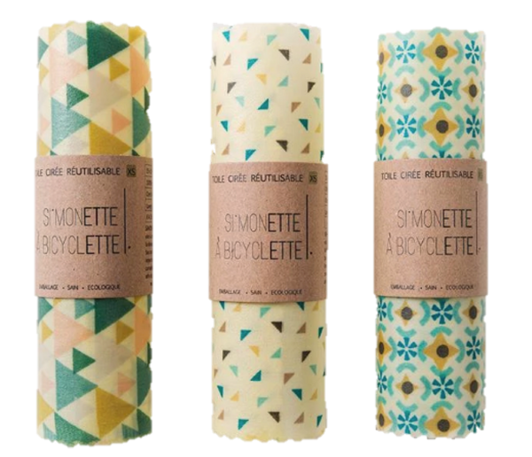 Reusable Beeswax Film-Simonette à Bicyclette-Kami Basics