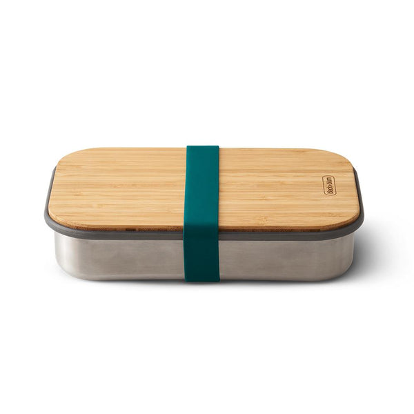 Sandwich Lunch Box - Ocean-Black + Blum-Kami Basics