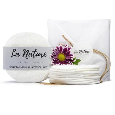 Makeup Remover Pads (8 or 16 pack)-La Nature-Kami Basics