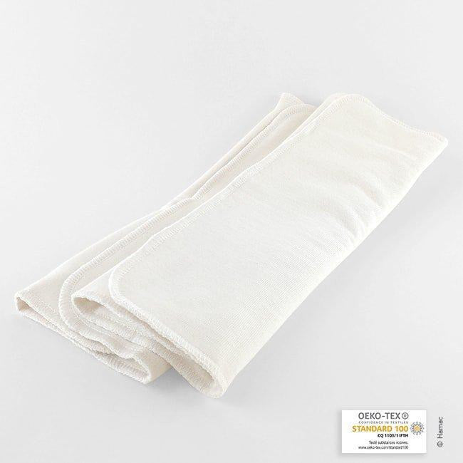 2 Organic Cotton Washable Absorbents
