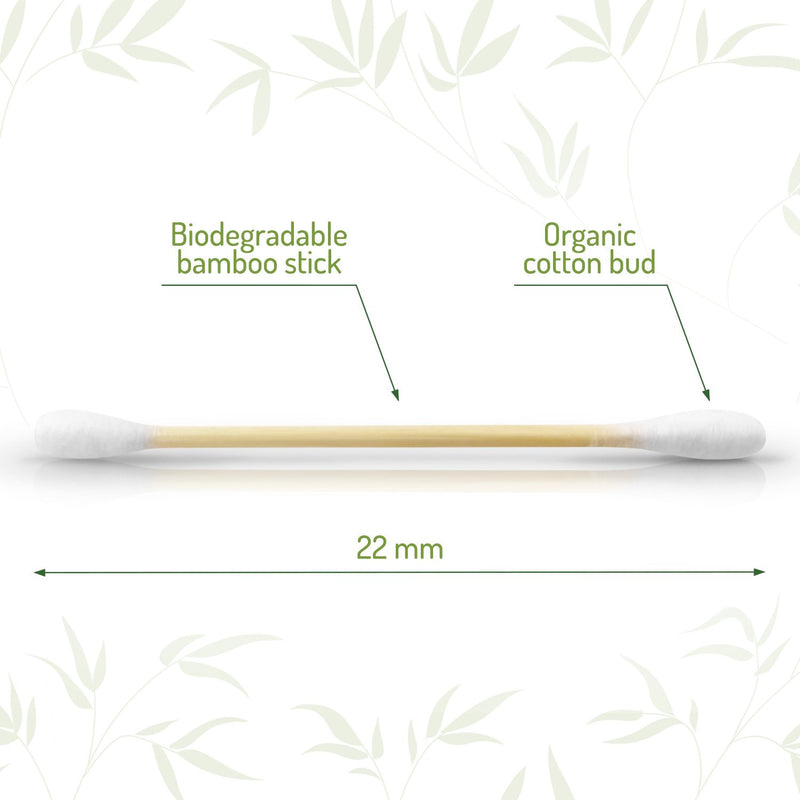 Bamboo Cotton Buds-Bambaw-Kami Basics