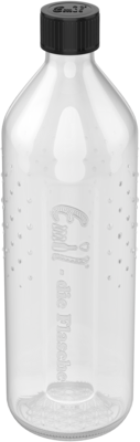 Glass Bottle with Thermal Protection - 600 ml