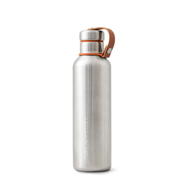 Insulated Water Bottle (750 ml) - Orange-Black + Blum-Kami Basics