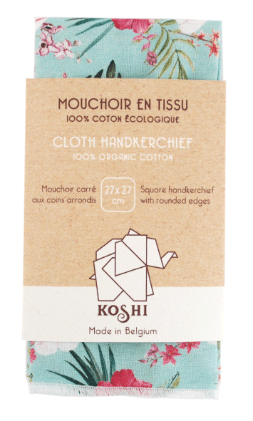 Organic Cotton Handkerchief - Kami
