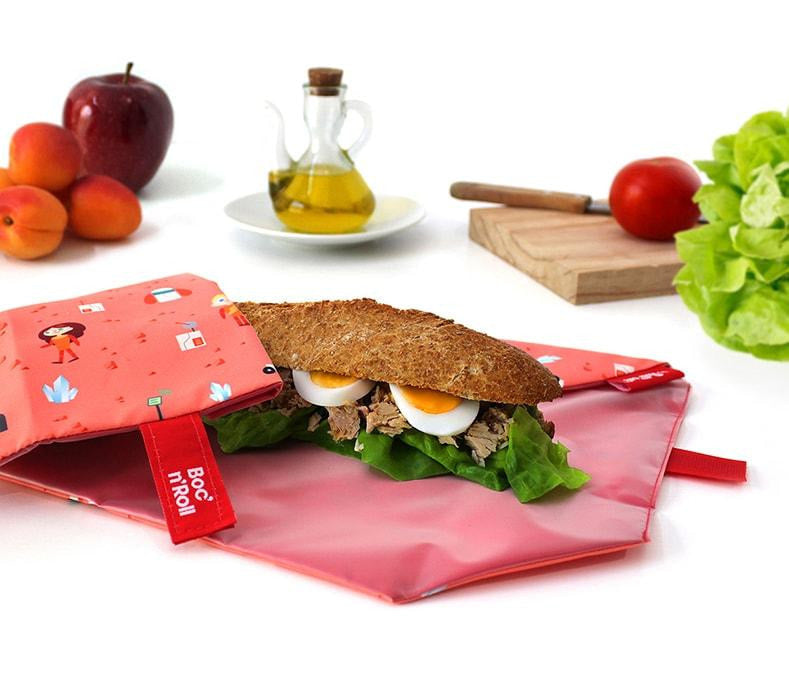 Boc' n' Roll Sandwich Wrap for Kids-Roll' Eat-Kami Basics