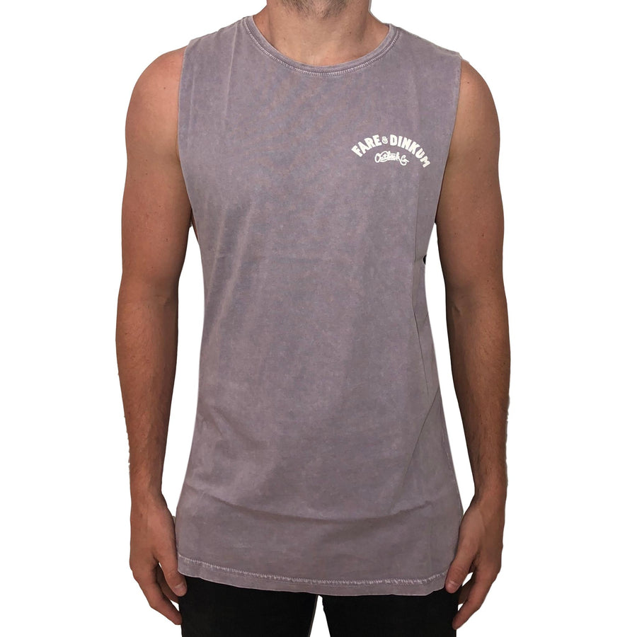 Trademark Vintage Muscle Tank Orchid Stone *Limited Edition*